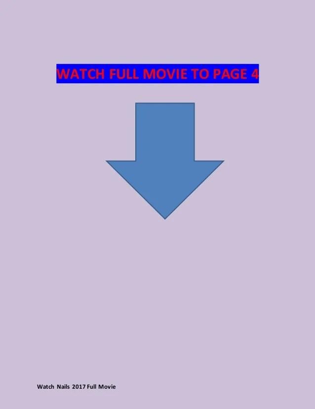 watch nails 2017 full movie online