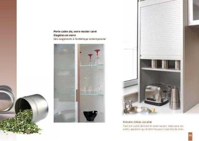 meuble de cuisine avec porte coulissante. du meuble de cuisine