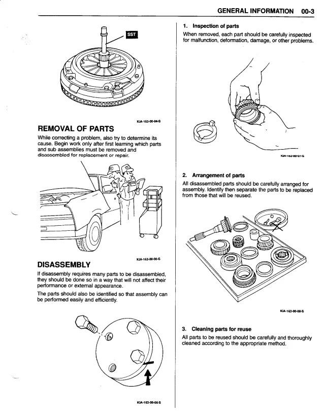 1998 Kia Sportage Parts Diagram | Wiring Diagram
