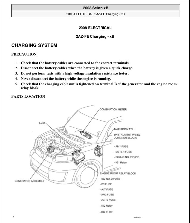 SCION XB 2010 Service Repair Manual