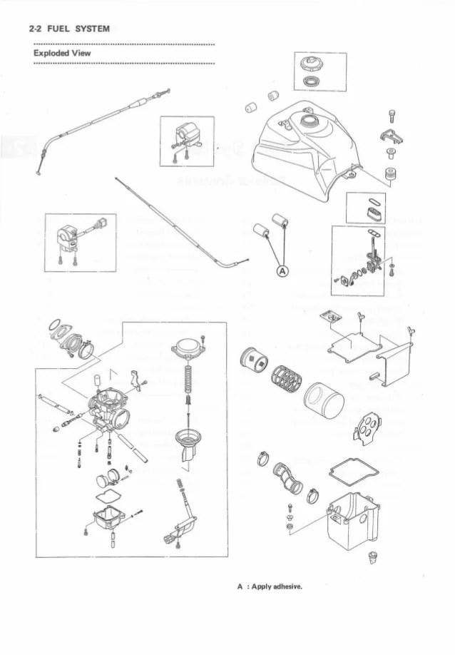 diagram kawasaki klf300 bayou wiring diagram 4 x 4 full