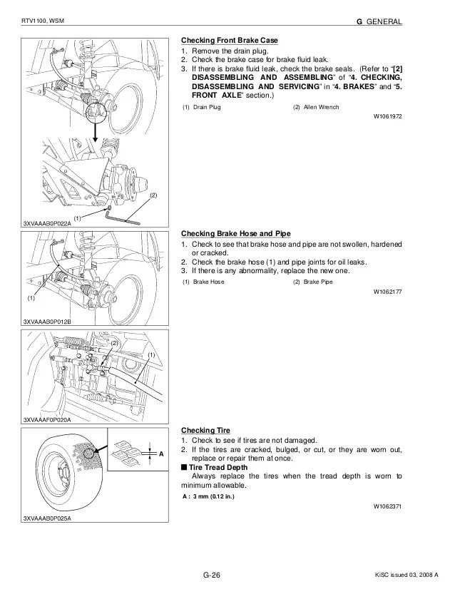 Kubota Rtv 900 Parts Manual