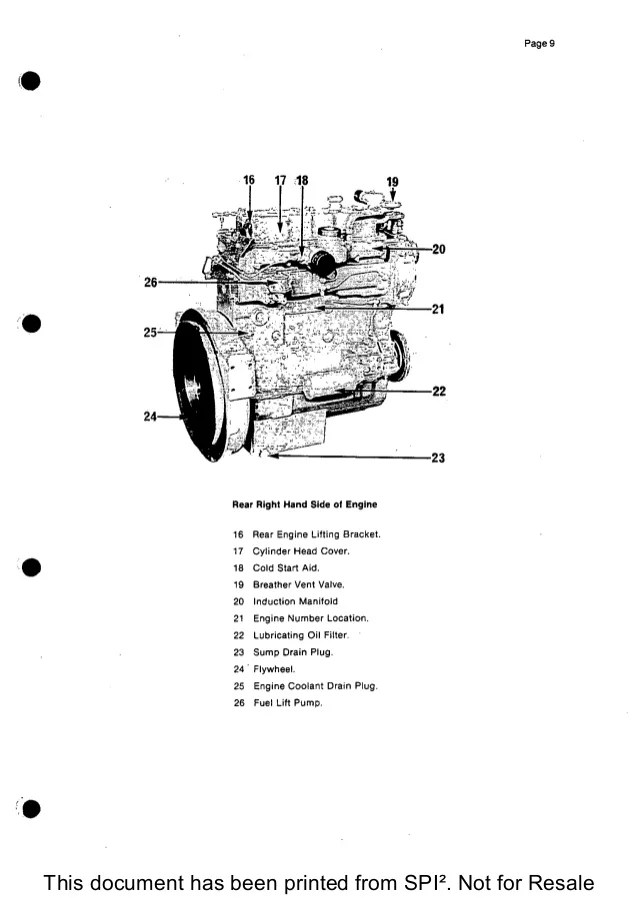 2003 Hatz Engine Wiring Diagram Hatz E950 Diesel Engines Workshop Manual Auto Electrical