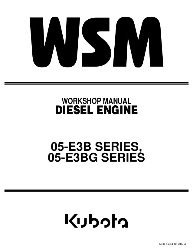 kubota d1105 alternator wiring diagram car sound e3b diesel engine service repair manual
