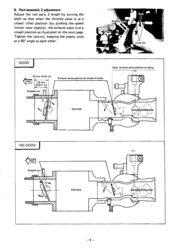 yamaha g1 golf cart wiring diagram ford ranger harness car service repair manual governor lever 6