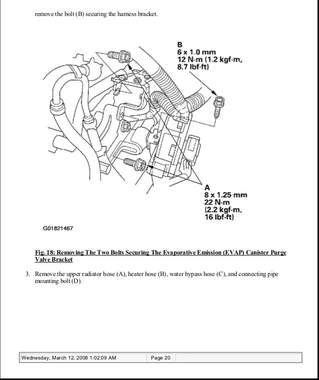2008 acura tsx engine diagram