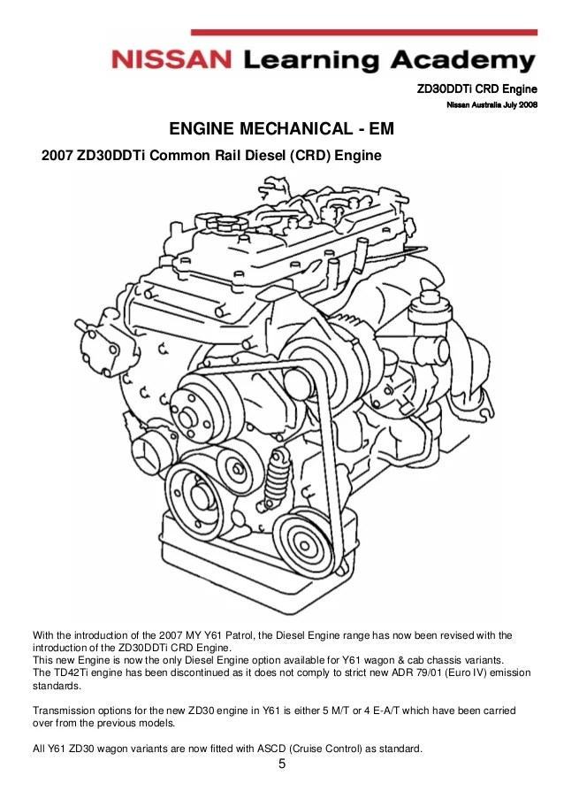 2007 Nissan Navara Engine Diagram. Nissan. Schematic