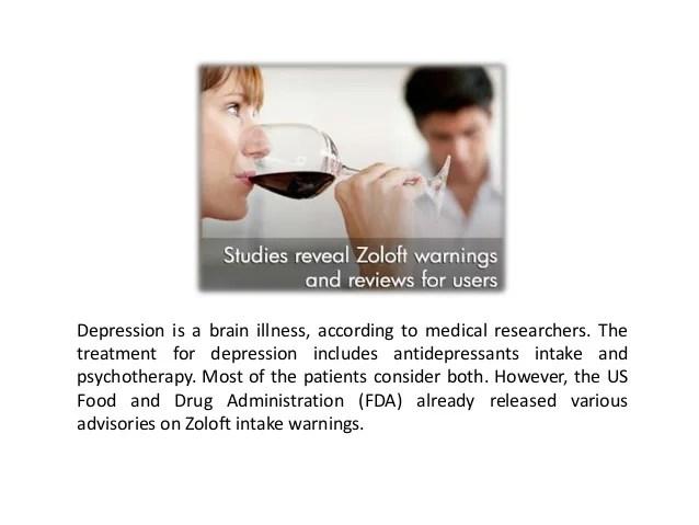 Zoloft Withdrawal Symptoms May be Dangerous