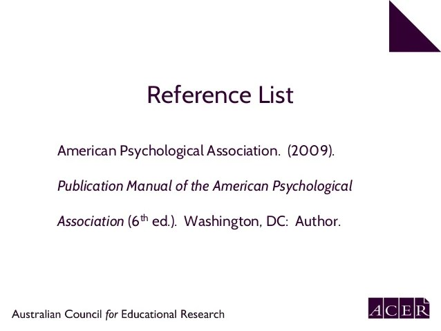 publication manual of the american psychological association sixth