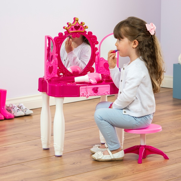 lights and sounds vanity table smyths toys uk