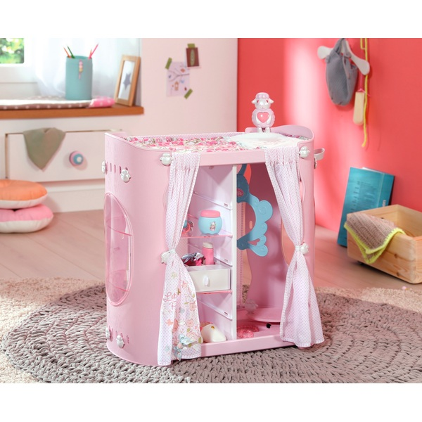 Baby Annabell Baby 2in1 Wardrobe and Changing Table