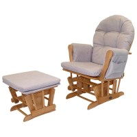 Babylo Glider Chair and Foot Stool Honey Dew - Nursing ...