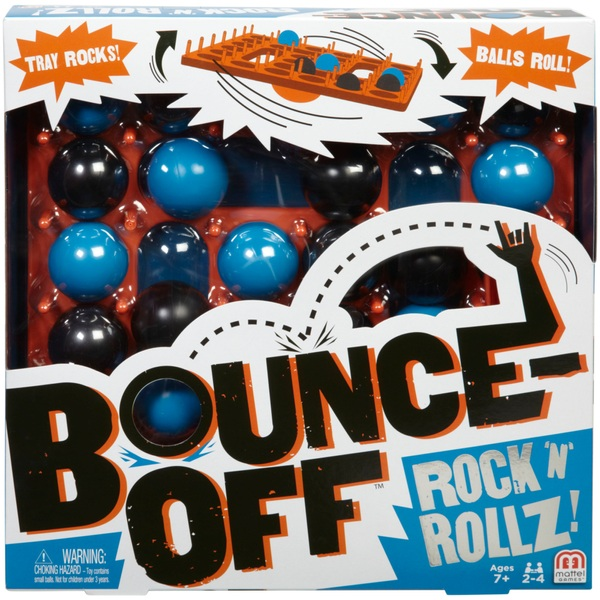 BounceOff Rock N Rollz Game  Board Games at Smyths