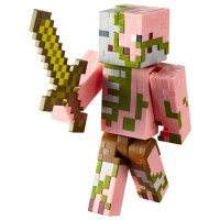 Minecraft Hostile Zombie Pigman 15cm Figure - Minecraft UK