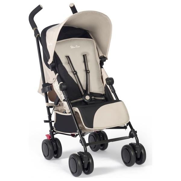 Silver Cross Pop 2 Stroller BlackSand  4 Wheel Strollers