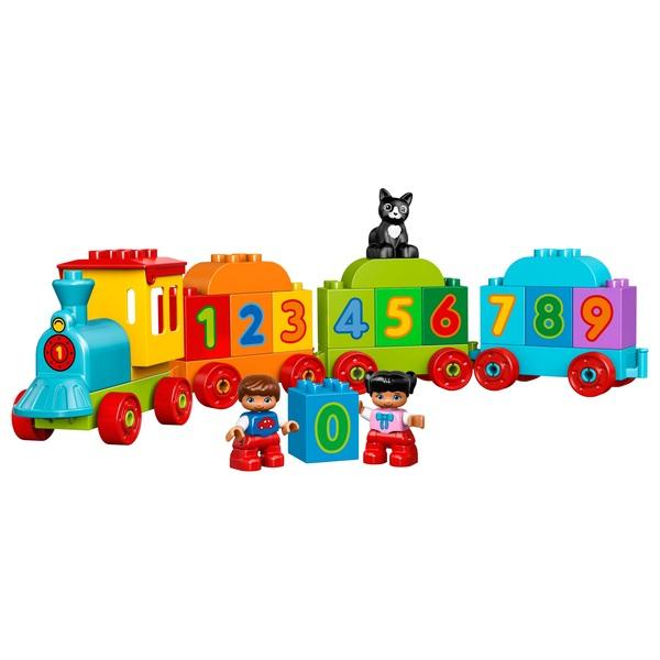 LEGO 10847 DUPLO Number Train Toy Education Large Bricks Set - Smyths Toys UK