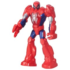 Toys Are Us Baby High Chairs Diy Rocking Chair Cushion Set Playskool Heroes Marvel Super Hero Adventures Mech Armour Spider-man 29.21cm - Avengers Uk