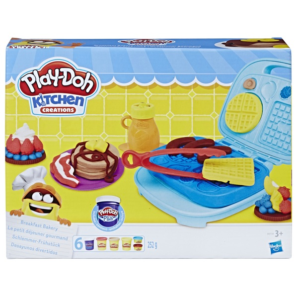 PlayDoh Kitchen Creations Breakfast Bakery Set  PlayDoh