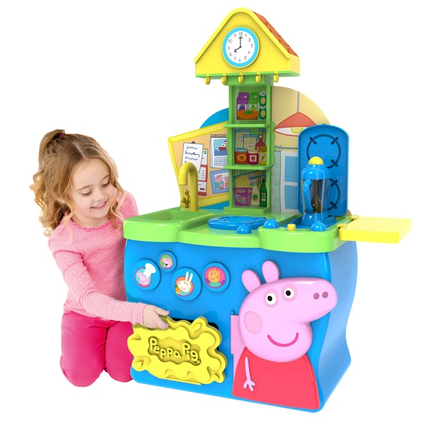 pig kitchen home depot financing remodel peppa kitchens household ireland