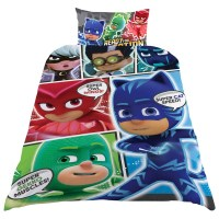 PJ Masks Comic Single Duvet Set