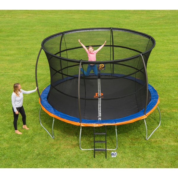 Jump Power 12ft Trampoline And Enclosure Trampolines UK