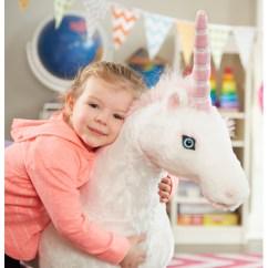 Childrens Plush Chairs Wheelchair Woman Melissa & Doug Large Unicorn - Soft Toys Uk