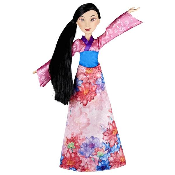 Disney Princess Royal Shimmer Mulan Doll  Disney Princess