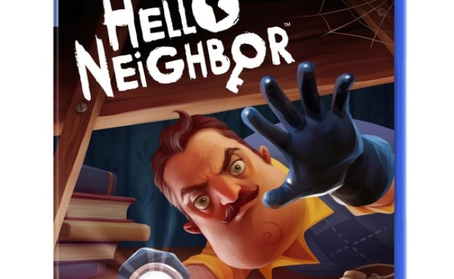 Hello Neighbor Ps4 Hello Neighbor Video Game Uk