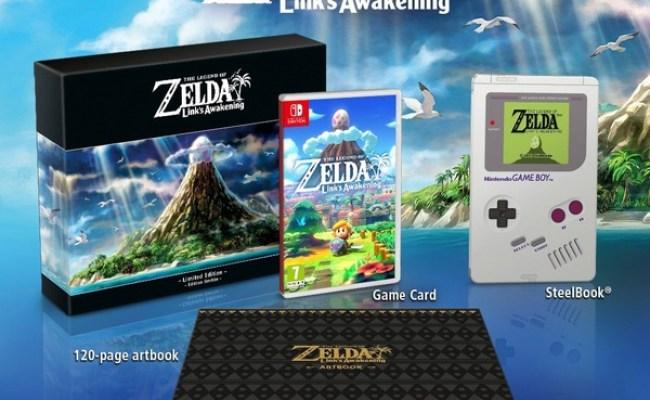 The Legend Of Zelda Link S Awakening Limited Edition