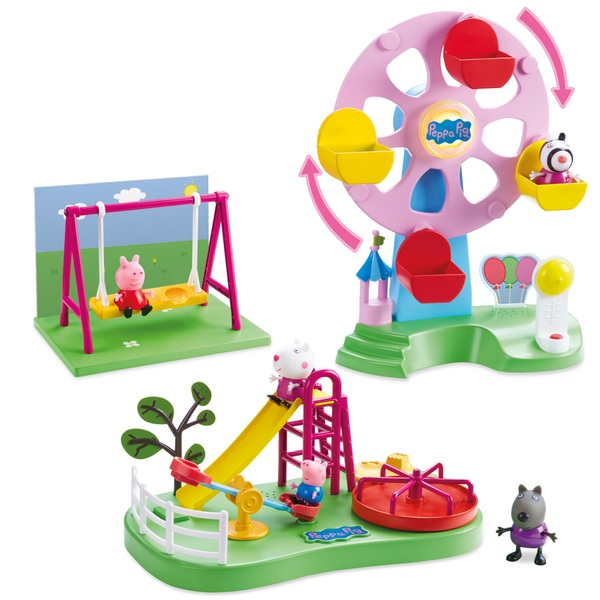 Peppa Pig And Friends Park Playset Smyths Toys Uk