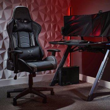 rocker gaming chair argos glider ottoman cushions chairs smyths toys ireland x strike office