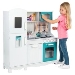 Kitchen Set Ikea Cabinet Installation Kitchens And Household Smyths Toys Ireland Little Chef Deluxe Wooden