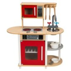 Wooden Play Kitchen Pictures Of Sinks Little Chef Kitchens Household Ireland