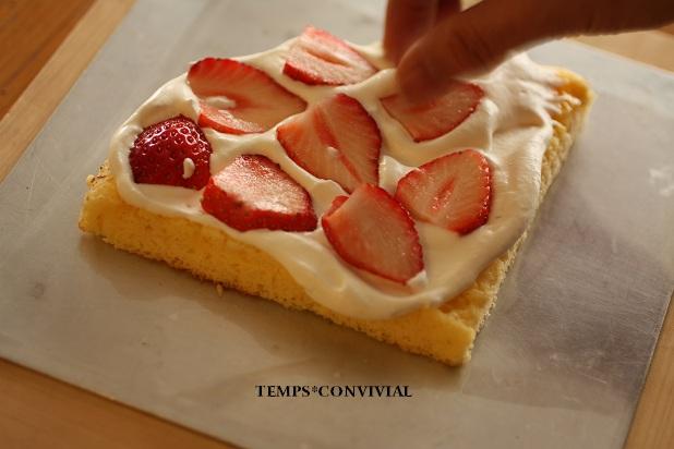 苺ショートケーキオーブンなし