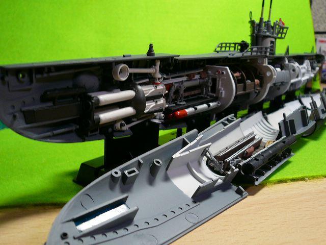 鋼密度模型 「U-BOOT」   おもちゃが大好き・・・ - 楽天ブログ