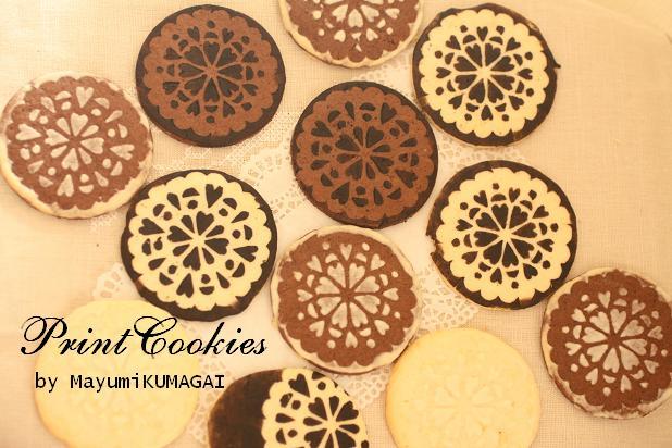 簡単可愛いプリントクッキー