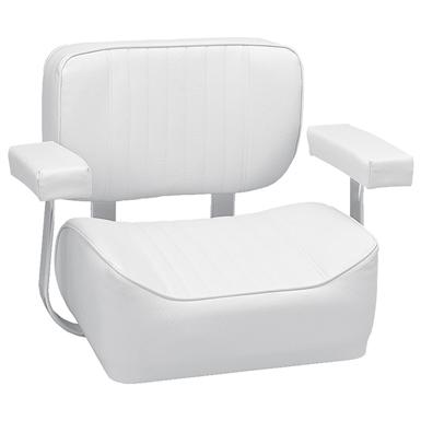 fishing chair with arms red nwpa calories wise offshore deluxe helm arm rests white 141419