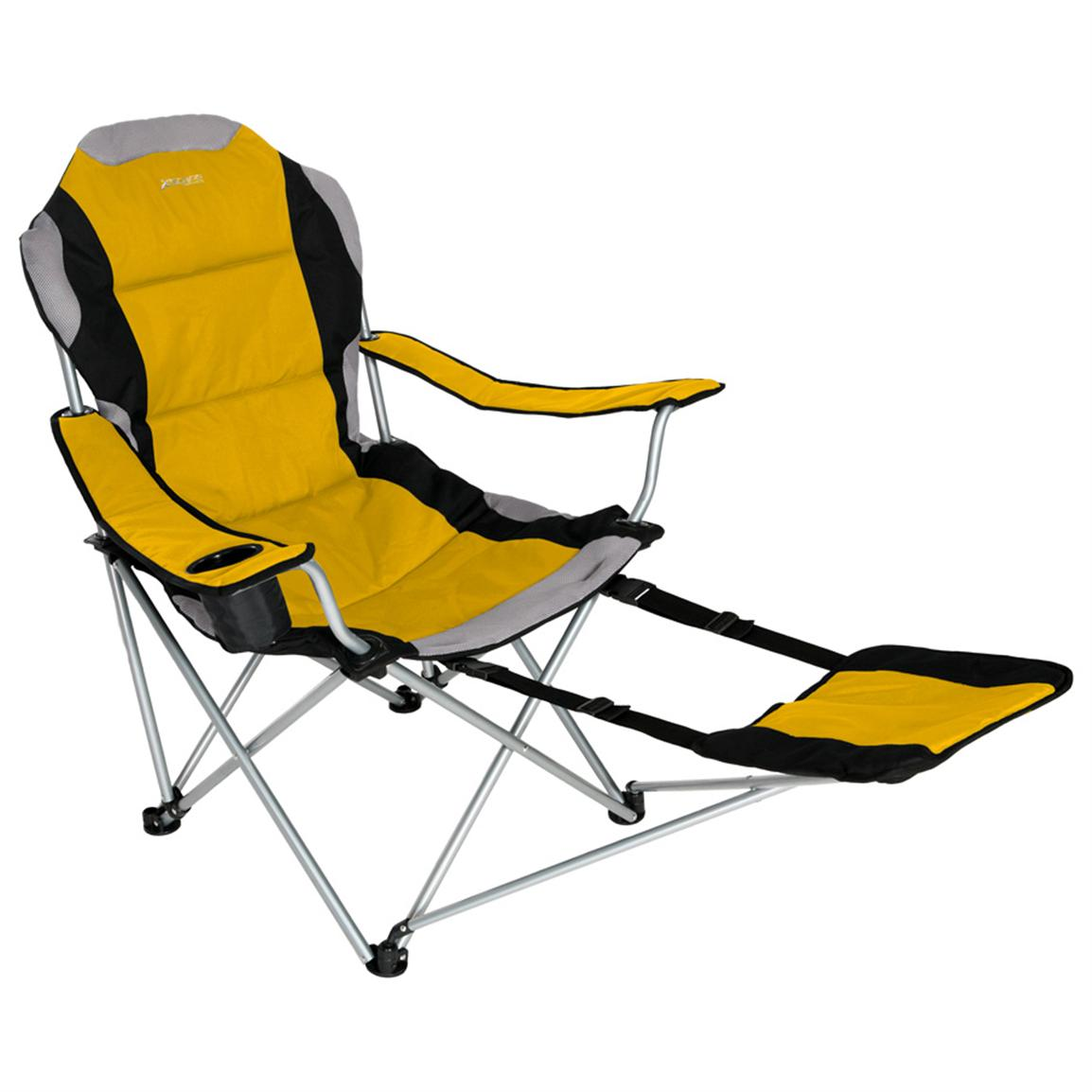 Camping Chair With Footrest Xscape Designs Sportline Xl Folding Chair W Footrest