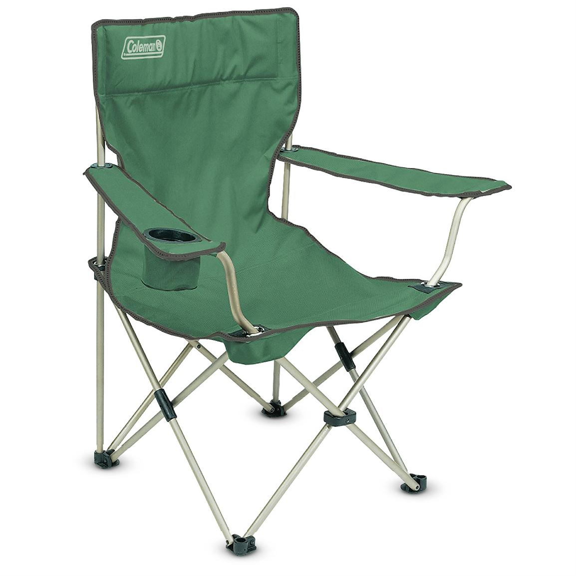 Camping Chair With Footrest Coleman Arm Chair 140305 Chairs At Sportsman 39s Guide