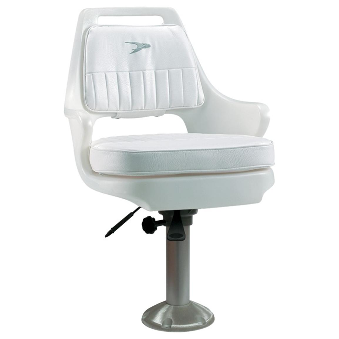 Pedestal Chairs Wise Offshore Pilot Chair With 15 Quot Fixed Pedestal