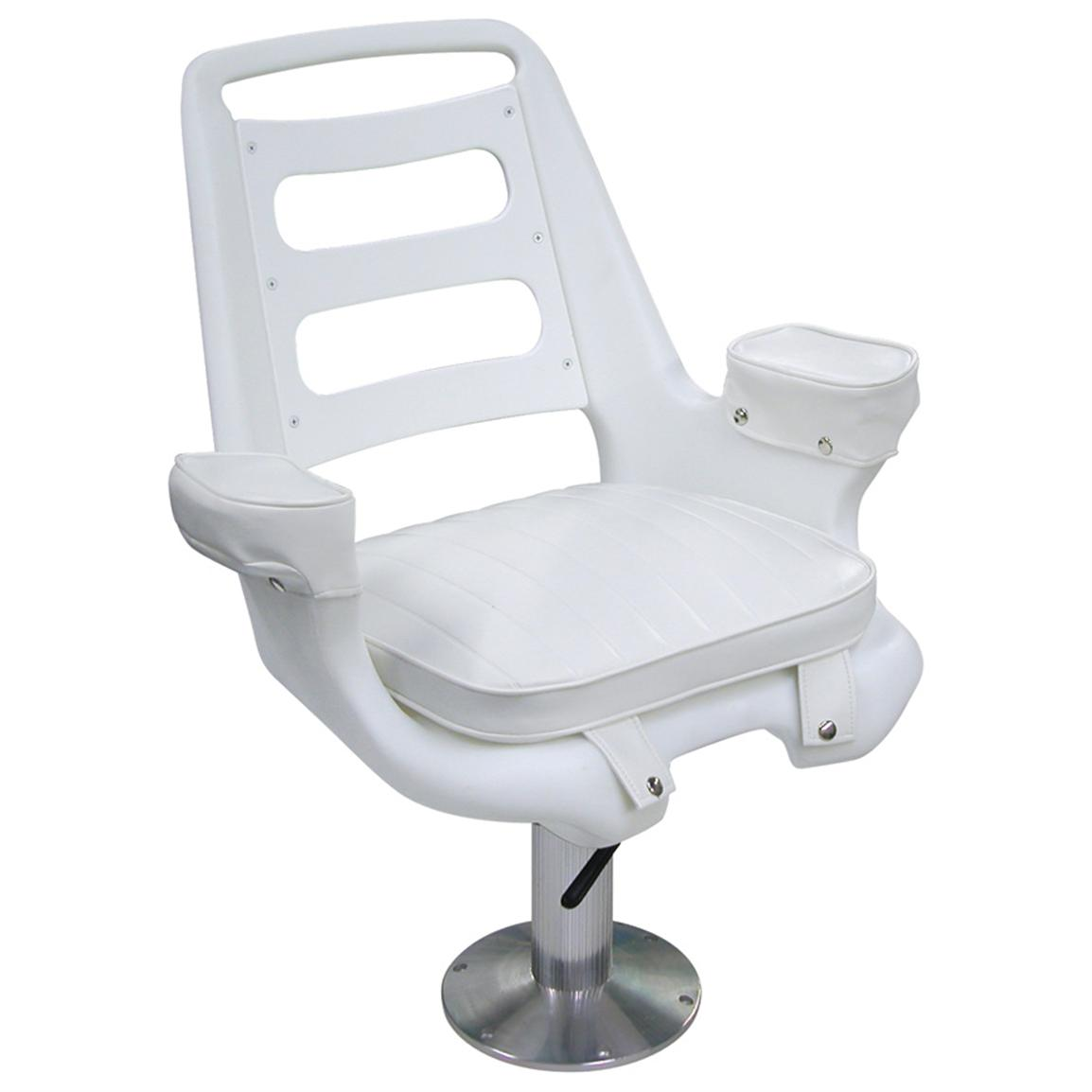 Pedestal Chairs Wise Offshore Extra Wide Captain 39s Chair With Pedestal