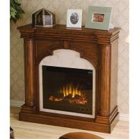 Ellington Electric Fireplace, Brown Mahogany - 170076 ...