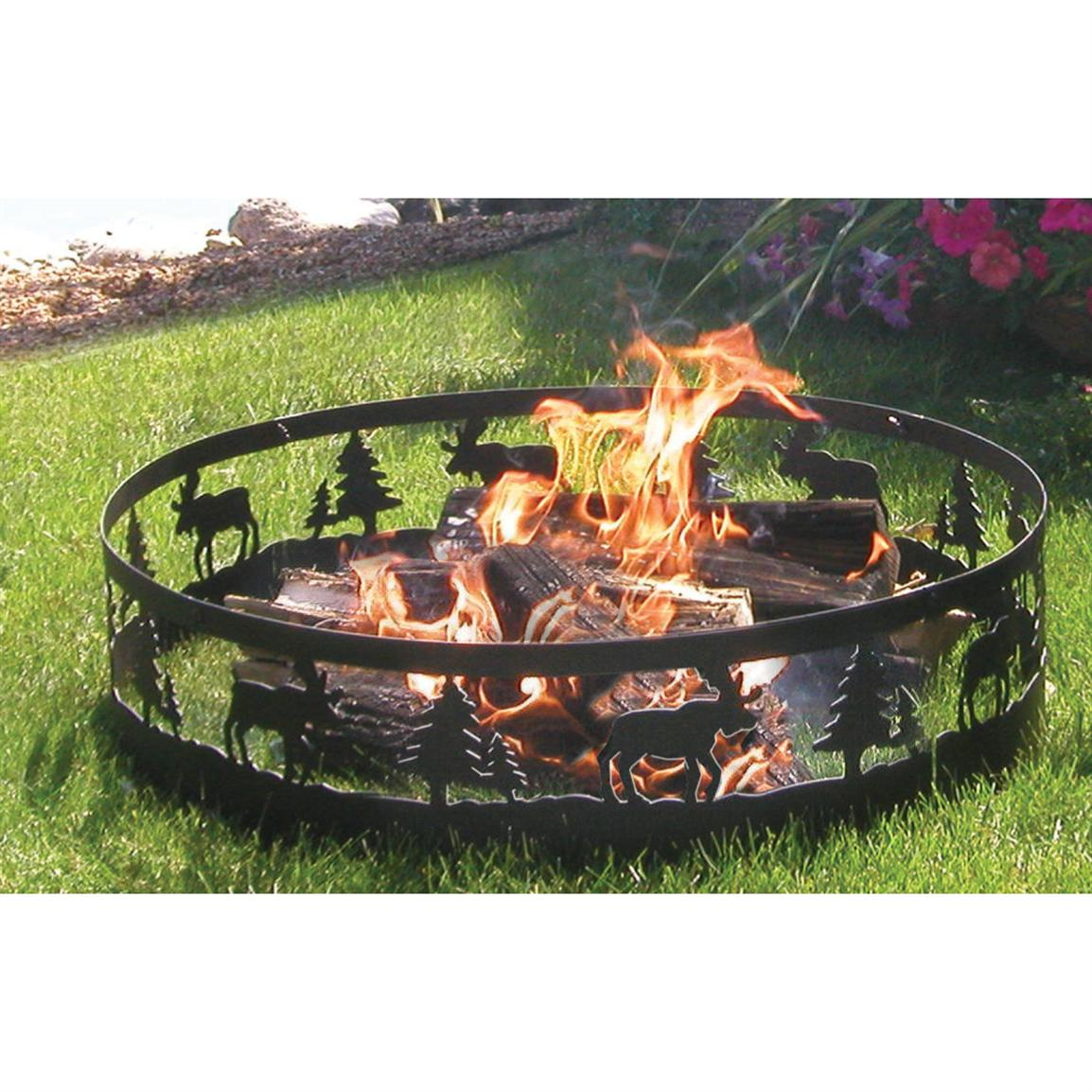 CobraCo Moose Camp Fire Ring