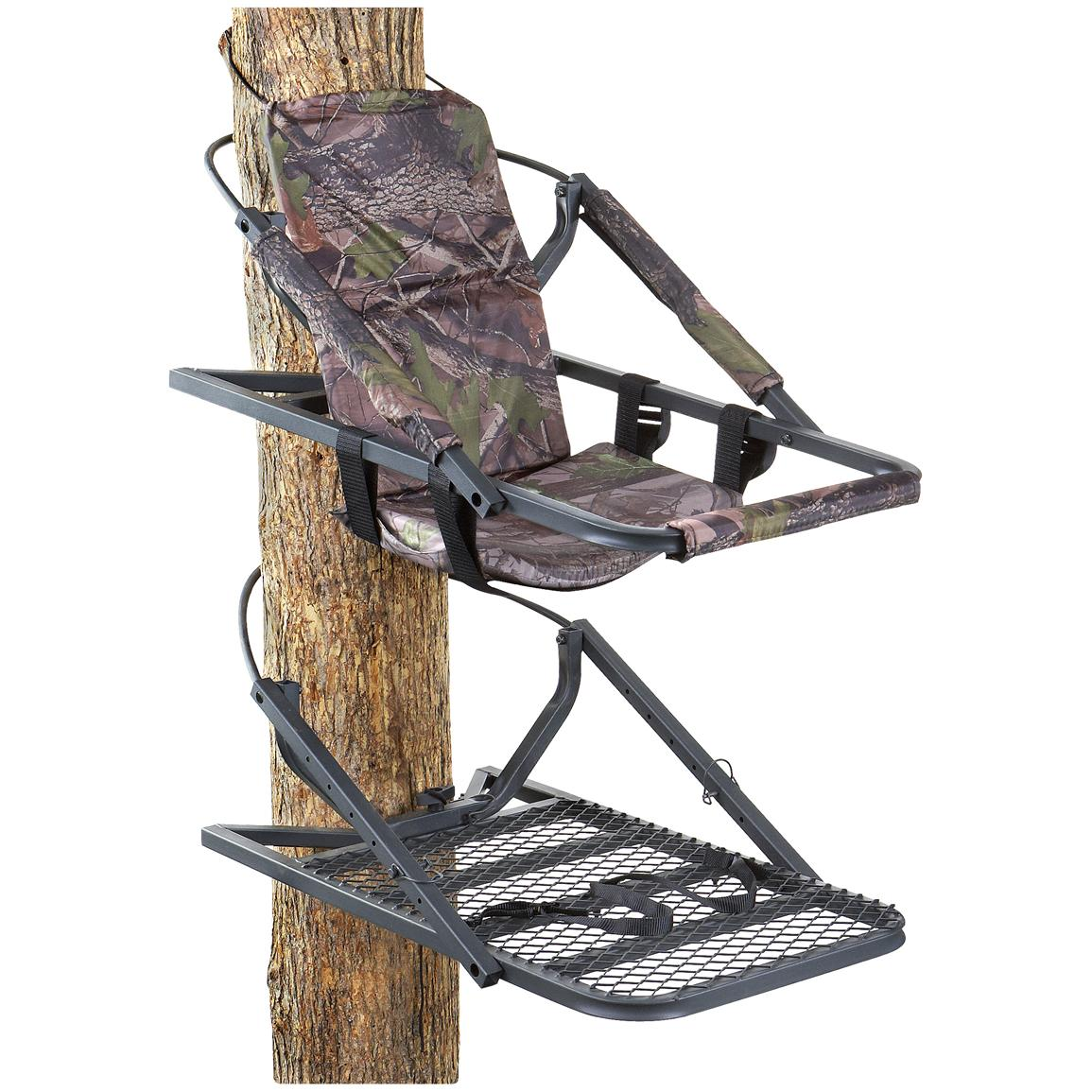 summit trophy chair review mermaid covers ideas guide gear extreme deluxe hunting climber tree stand 177426