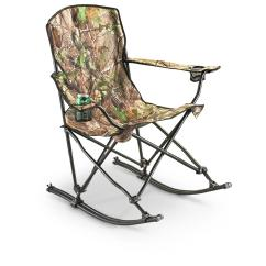 Ice Fishing Chair Maplestory Plastic Chairs At Walmart Stansport Team Realtree Folding Rocking 178647