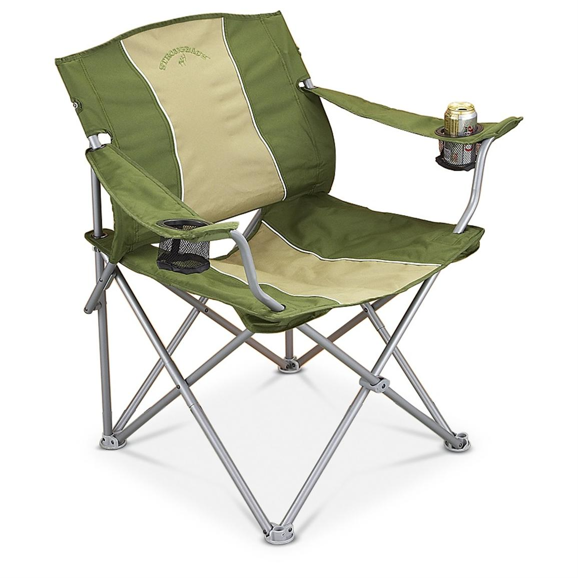 Campfire Chairs Guide Gear Oversized Strongback Folding Camp Chair
