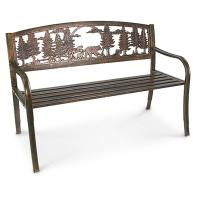 R.A. Guthrie Solid Metal Freedom Bench - 199836, Patio ...