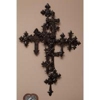 Metal Cross Wall Decor