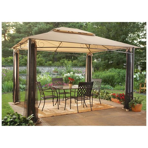 Castlecreek 10' X 12' Classic Garden Gazebo - 232387 Awnings & Shades Sportsman' Guide