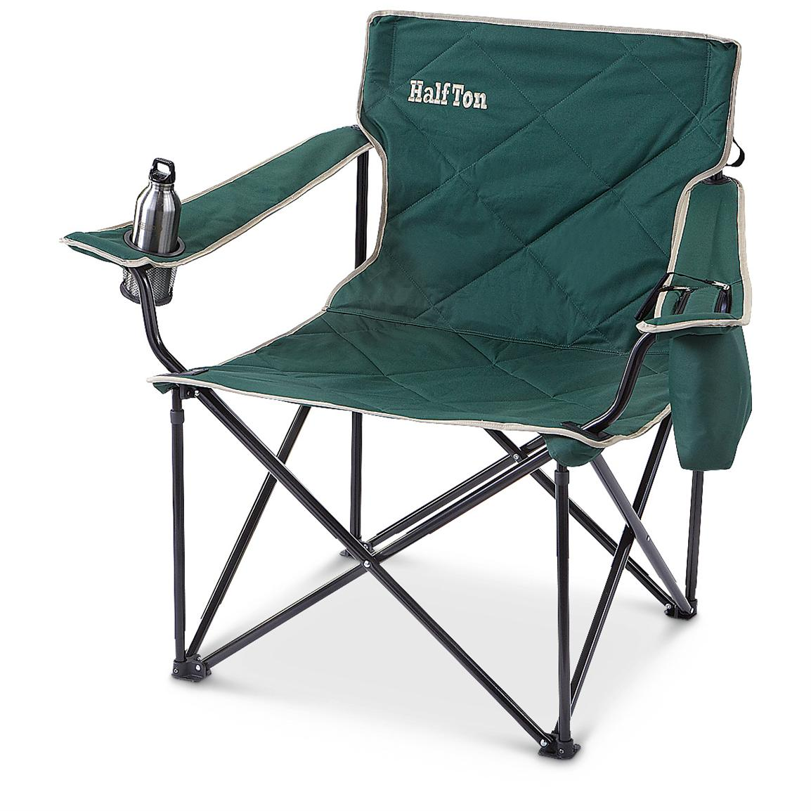 Campfire Chairs Guide Gear 1 2 Ton Foldable Camp Chair Forest Green